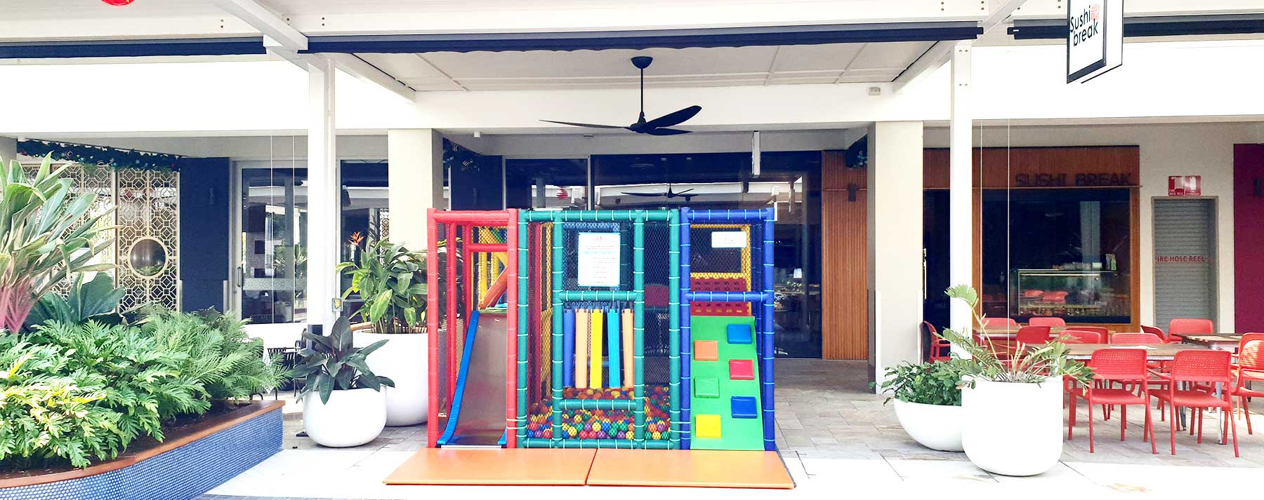 Mobile playground at Harbour Town Shopping Centre