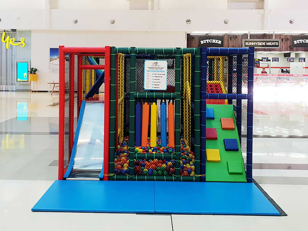 Mobile Playground in Shopping Centre